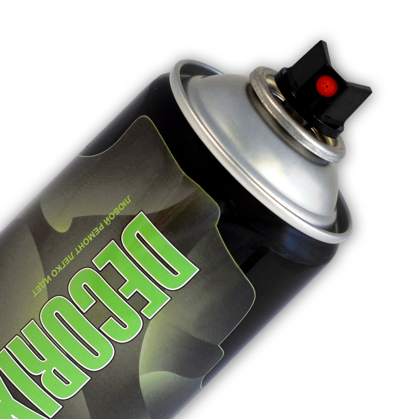 Аэрозольная краска фосфоресцентная DECORIX 520 мл матовая