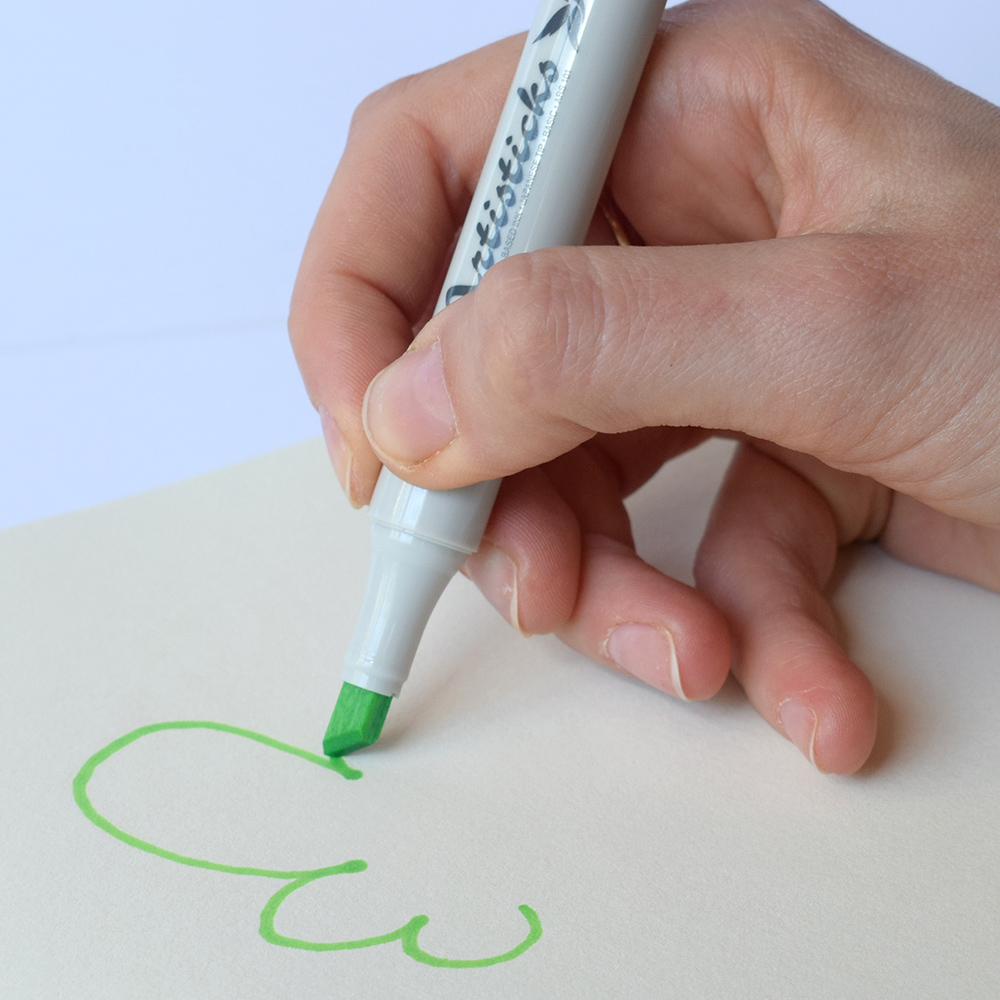 Профессиональные двусторонние художественные маркеры Artisticks® ARS 101-24 BAG  на спиртовой основе