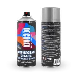 Аэрозольная эмаль универсальная «Молотковый эффект» DECORIX 520 мл