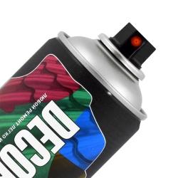 Аэрозольная эмаль для металлочерепицы и профнастила DECORIX 520 мл глянцевая