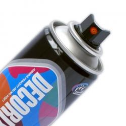 Аэрозольная светоотражающая краска DECORIX 335 мл глянцевая