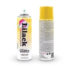 Аэрозольный глиттер Glitter Effect Coating Lilack 335 мл глянцевый