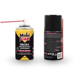 Аэрозольная профессиональная силиконовая смазка Mobicar 185 мл