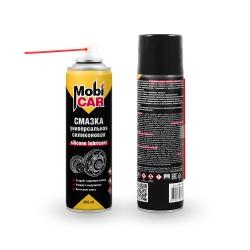 Аэрозольная профессиональная силиконовая смазка Mobicar 335 мл